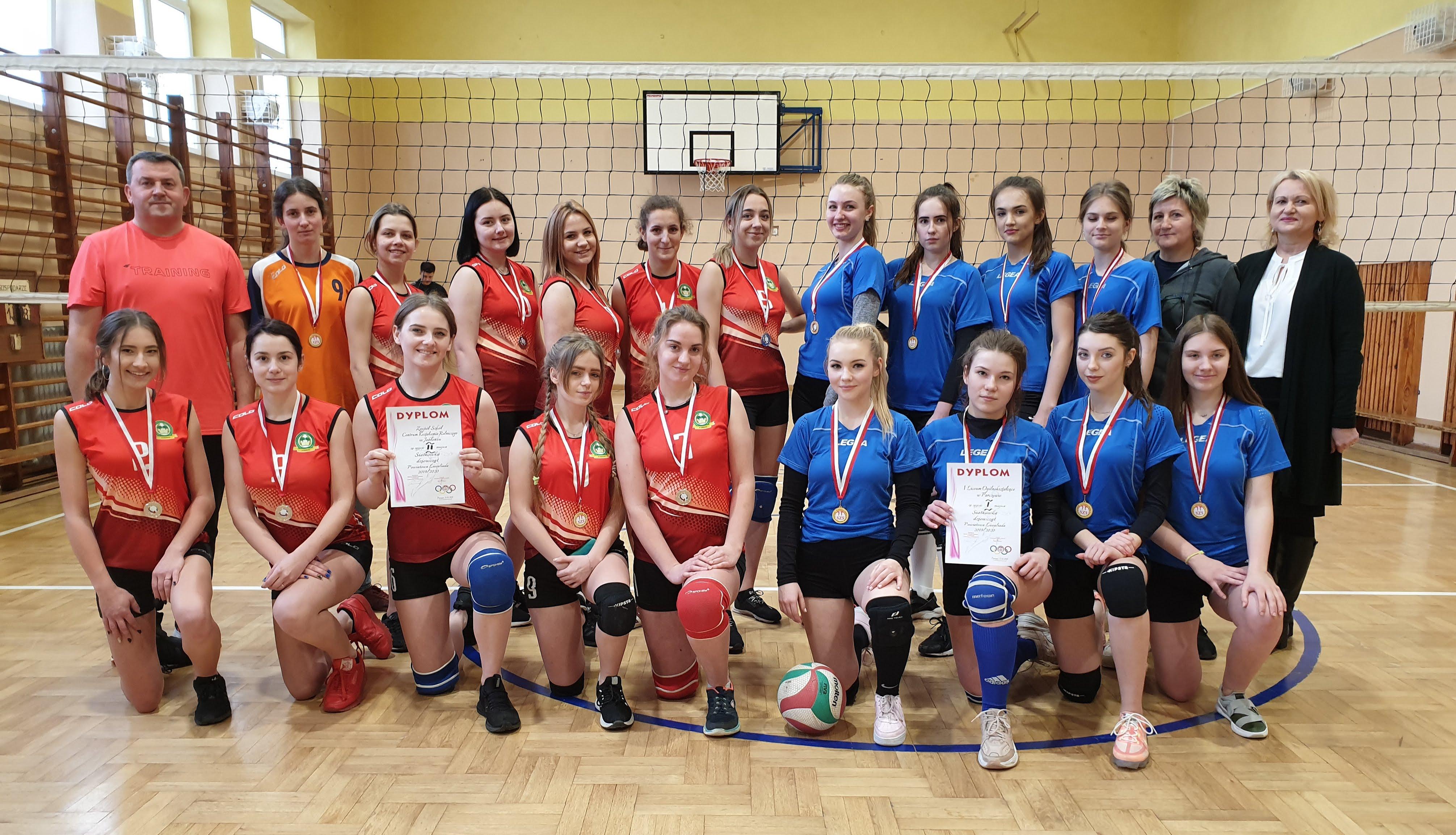Siatkówka dziewcząt – LIC 2019/2020